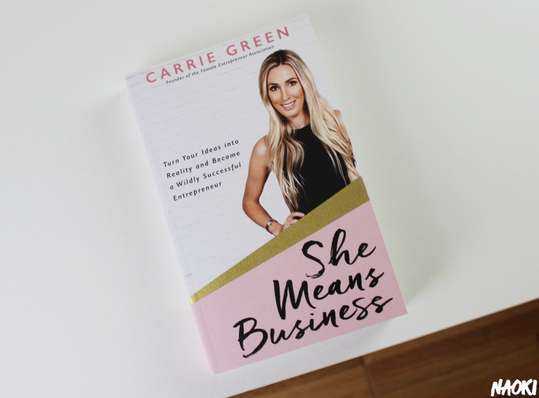 Inspirerend boek: She means business